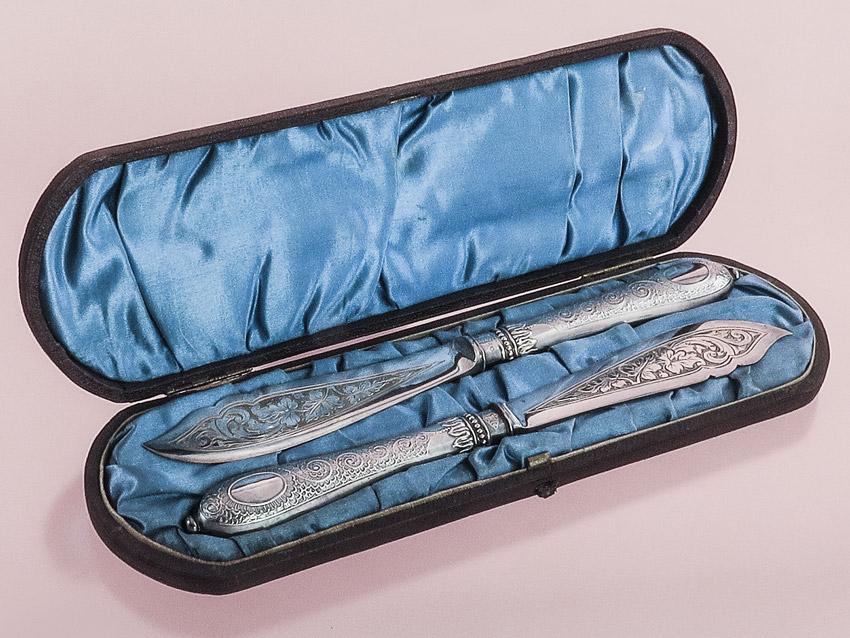 Käsemesser Buttermesser Vorlegemesser Silber