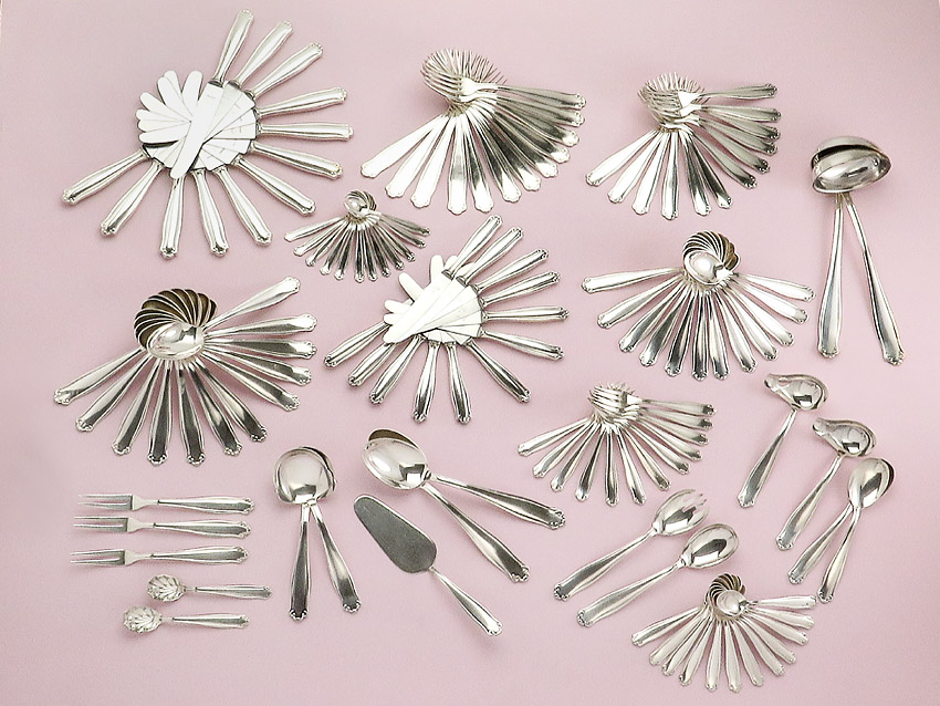 Menu Cutlery Walbusch Solingen Silver Plated