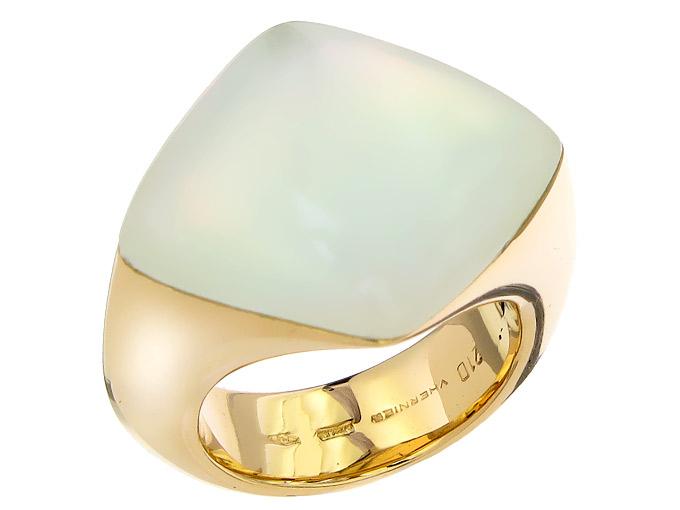 VHERNIER Ring Perlmutt 750er Roségold