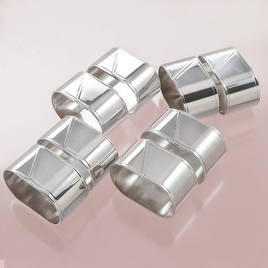 Napkin Rings Fink Silver-Plated