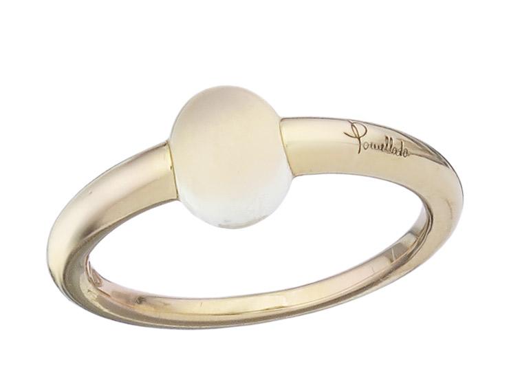 Pomellato Ring M'Ama Non M'Ama Mondstein 750er Gelbgold