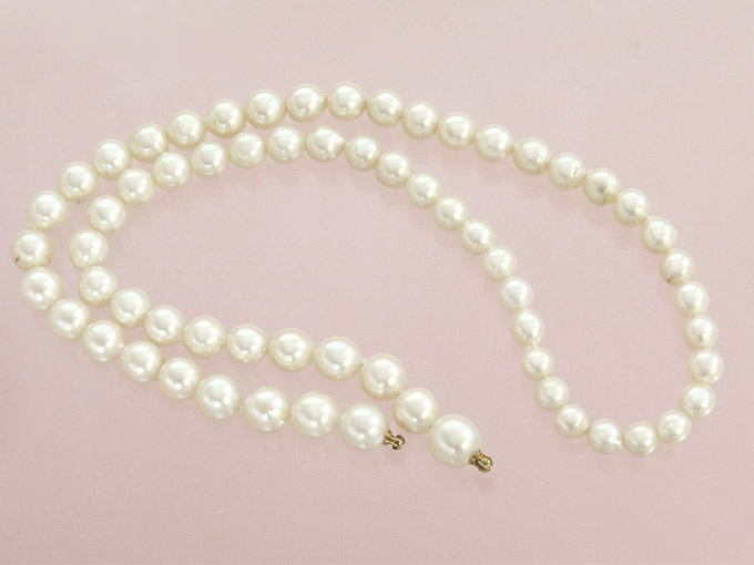 Pearl Chain for Interchangeable Clasp
