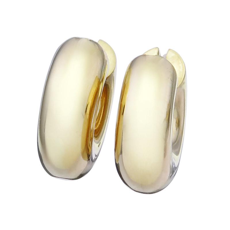 Hoop Earrings 18 Karat Yellow Gold