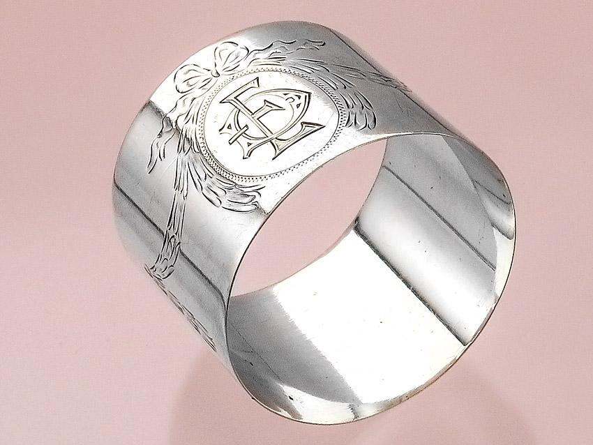 Naplin Ring Hanau 800 Silver