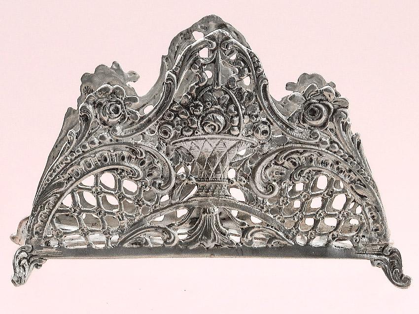 Serviettenhalter 800er Silber