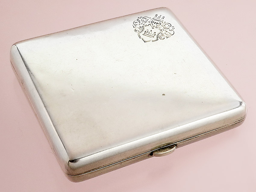 Cigarette Box Koch & Bergfeld 800er Silver