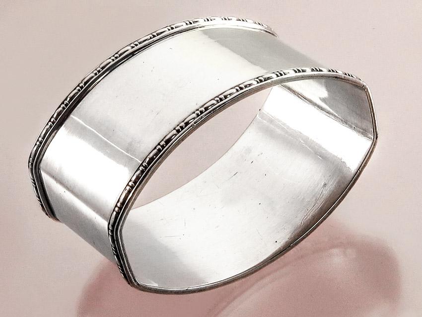 Serviettenring 830er Silber
