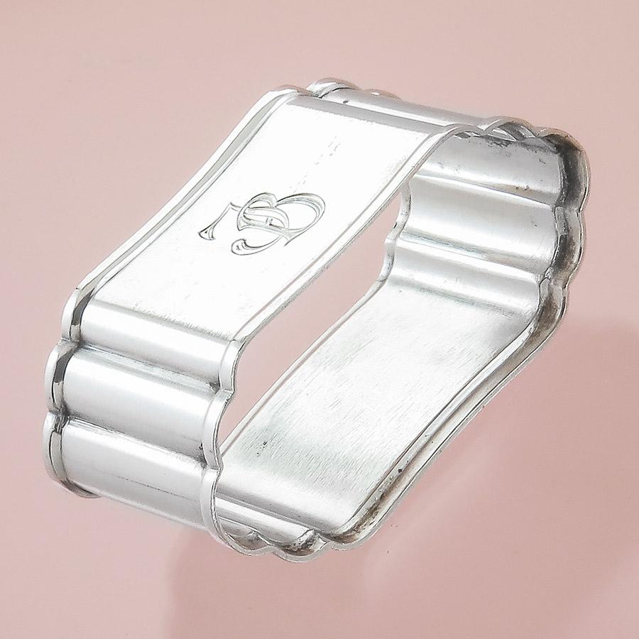 Serviettenring Art Dèco Bremer Silberwarenfabrik 800er Silber