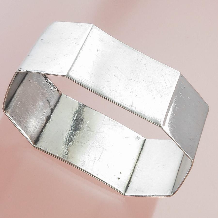 Napkin Ring Art Deco 835 Silver Pforzheim