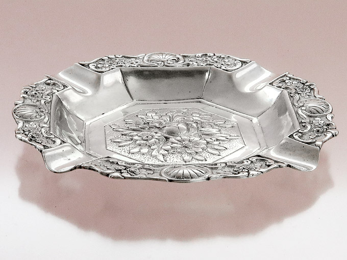 Ashtray Ornaments 800 Silver Germany