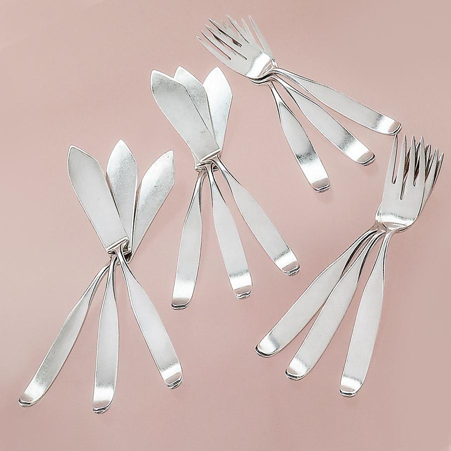 Fish Cutlery Wilkens Martin Series Constanze Silver Plated