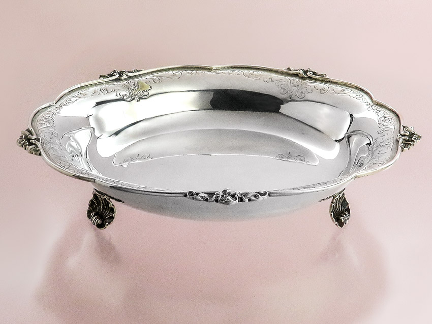 Silberschale Italien 800er Silber