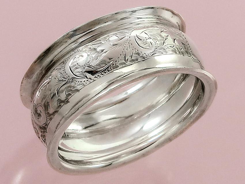 Serviettenring Chester 1911 Silber