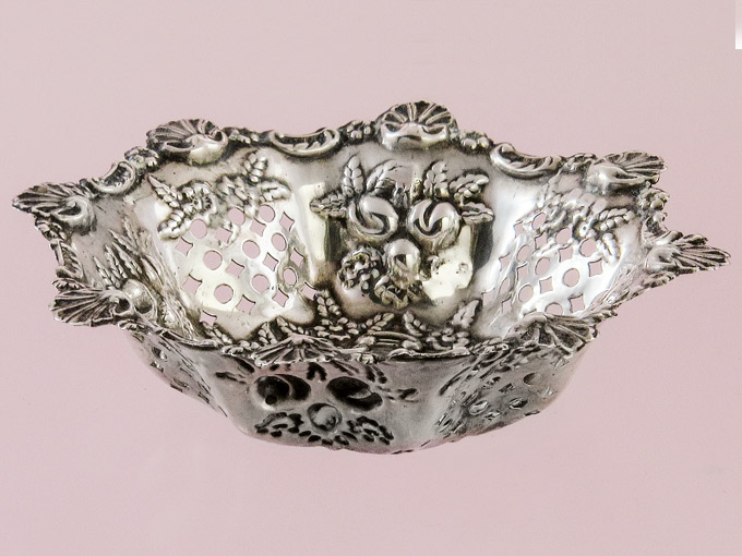 Small Silver Bowl Offering Bowl made of 925 Silver