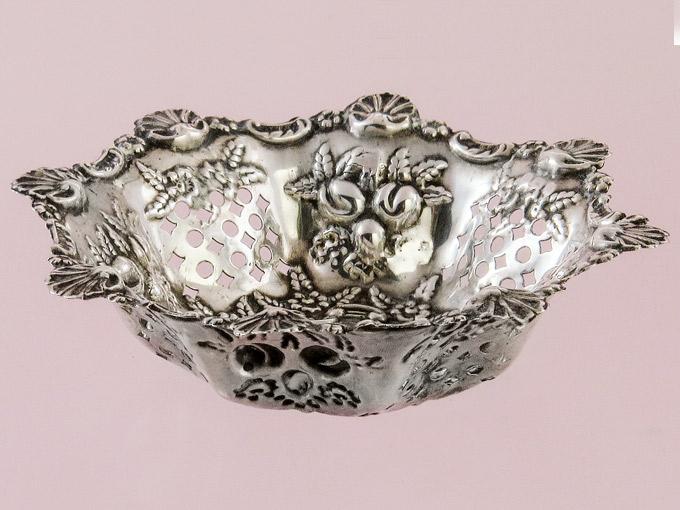 Kleines Silberschälchen Anbietschale 925er Silber