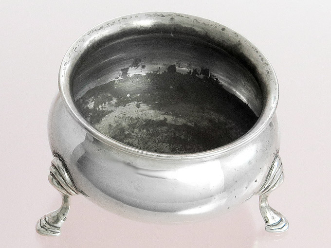 Salt Bowl Salt Pot Sterling Silver England
