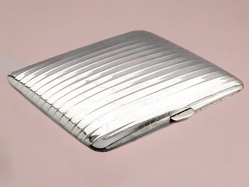 Zigarettendose Wilhelm Binder 800er Silber