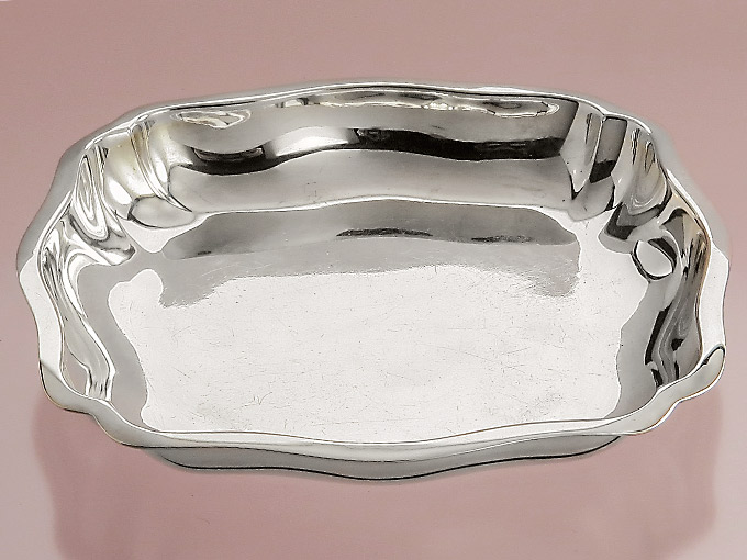 Bowl Vegetable Bowl Confectionery Bowl Silver Bowl 835er Silver