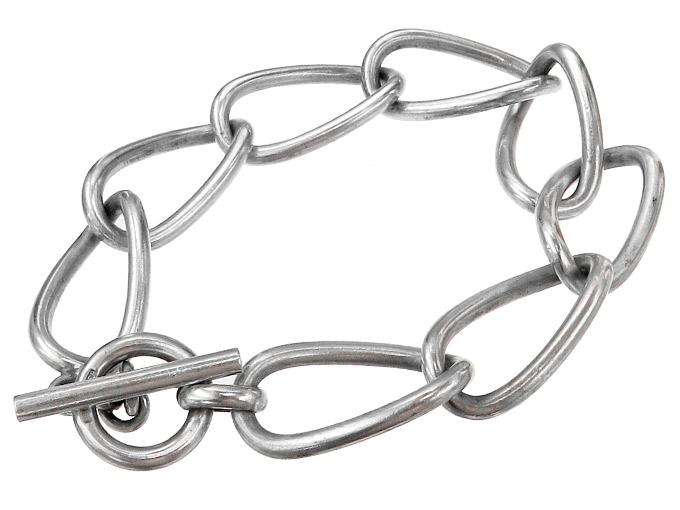 Armband Ketten-Glieder-Armband 835er Silber