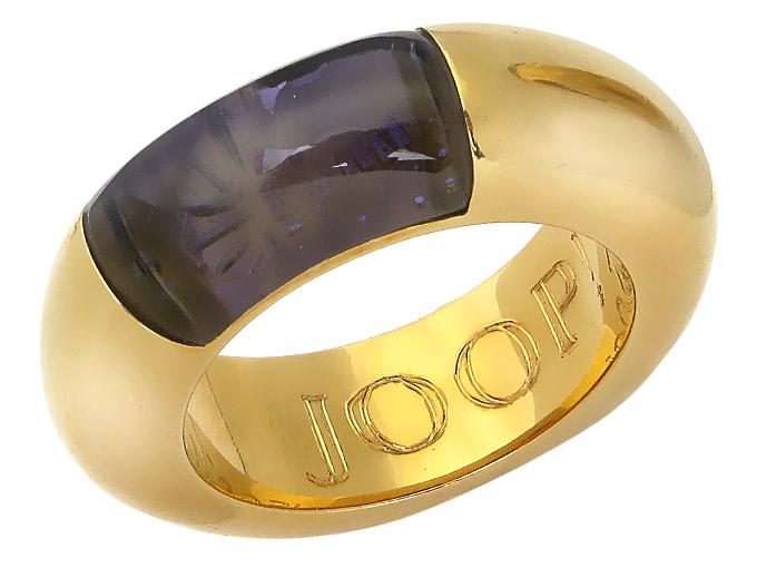 JOOP! Ring Kornblume 750er Gelbgold