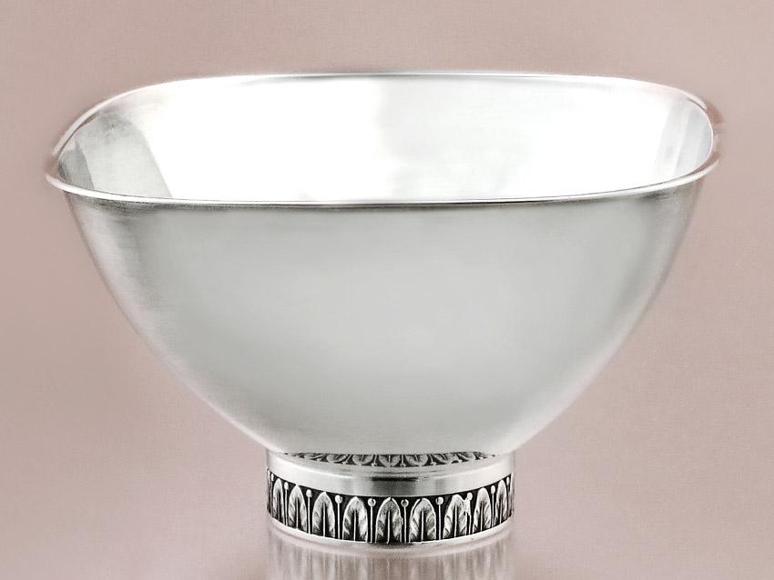 Small Silver Bowl Sterling Silver Wilhelm Binder Schwäbisch Gmünd