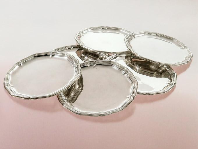 Glass Coaster Wilkens Bremen 830 Silver