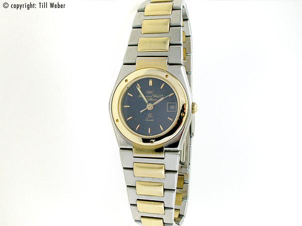 """IWC """"SL"""" Stahl Gold ca. 1985 Box"""
