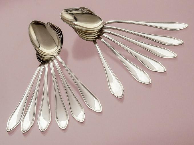 Mocha Spoons Berlin Silver