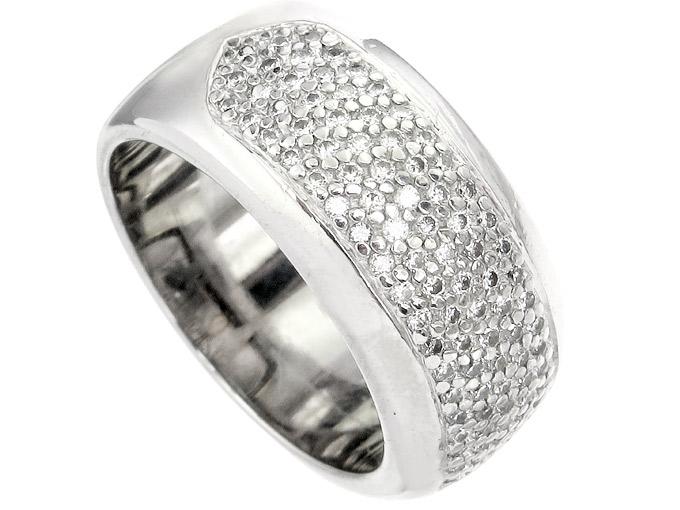 Christ Ring Diamanten 585er Weißgold Zertifikat