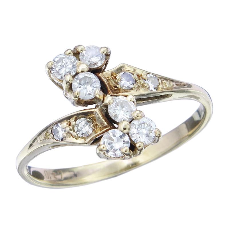 Ring Brillanten 585er Gelbgold