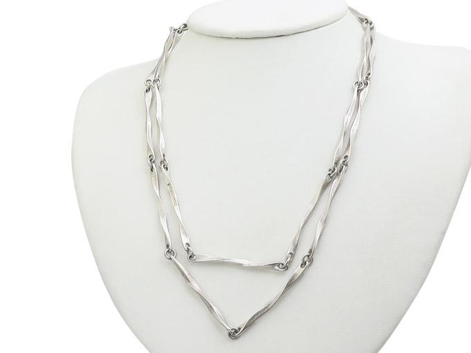 Lapponia Kette Modernist M8/1989 925er Silber