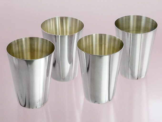 Silver Cups Wilkens Drinking Cups Wine Cups 835 Silver