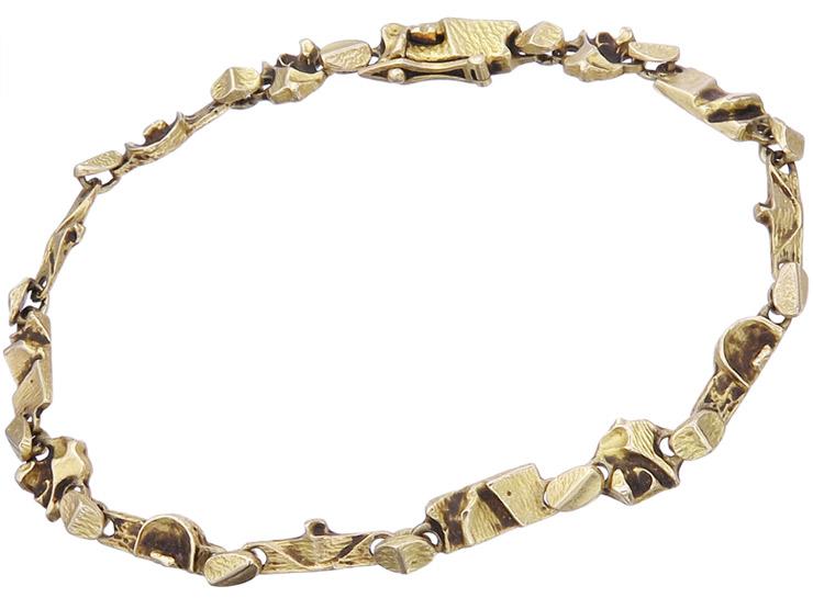 Lapponia Armband TENOCHTITLAN Björn Weckström 750er Gelbgold