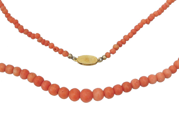 Chain Coral Balls 750 Yellow Gold