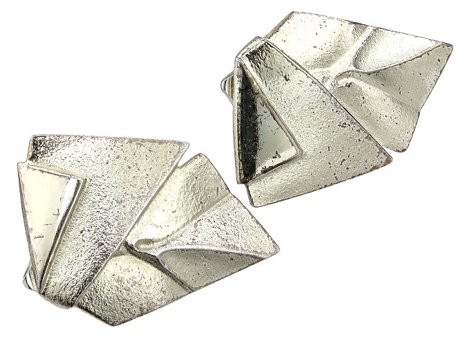 Lapponia Clip Earrings 925 Silver