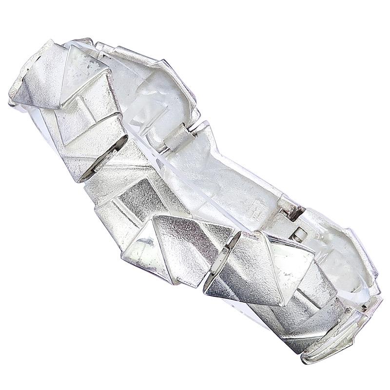 Lapponia Bracelet ORIGAMI Silver Zoltan Popovits Y8 2000