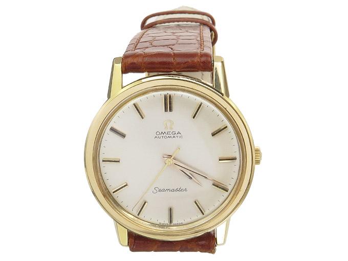Omega Seamaster Gold um 1965