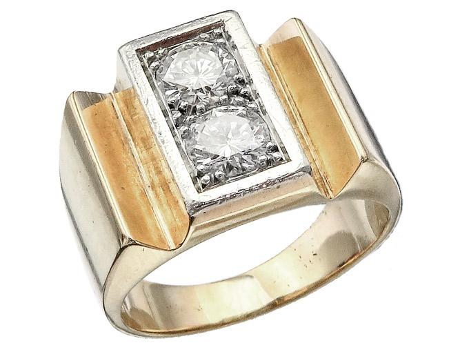 Ring Diamonds 14 Karat Rose Gold
