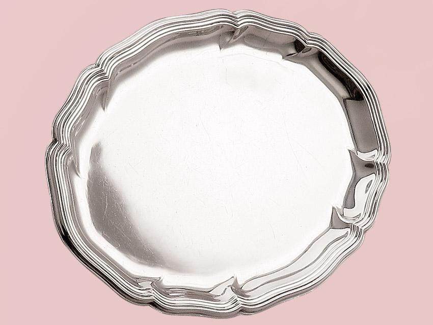 Tablett für Milch&Zucker Wilkens 835er Silber