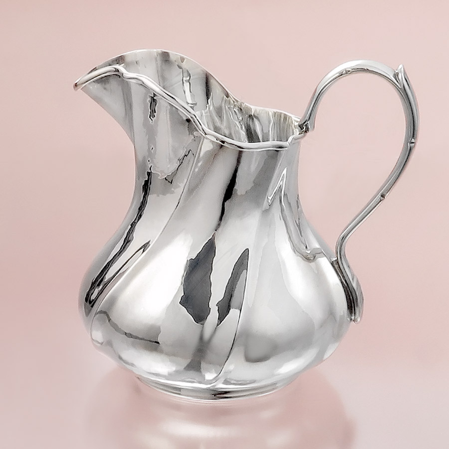 Silver Pot Milk Pot 800 Silver Italy after 1970