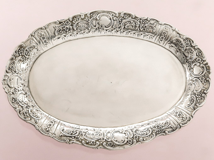 Small Tray 800er Silver