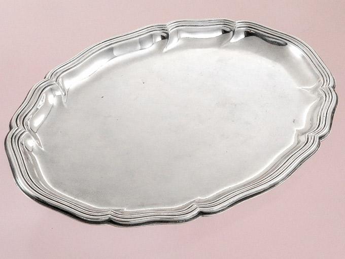 Silbertablett Wilkens 835er Silber
