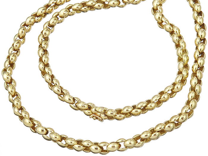 Cartier Necklace 18 Karat Yellow Gold 1993
