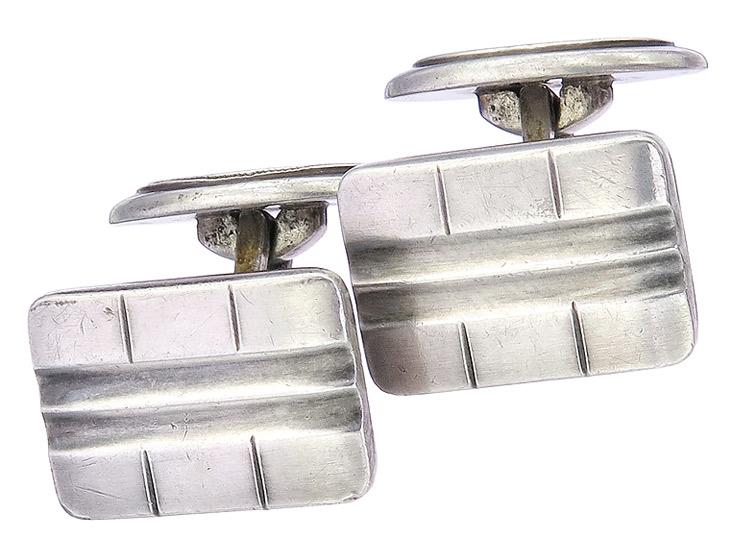 Manschettenknöpfe 835er Silber Antik