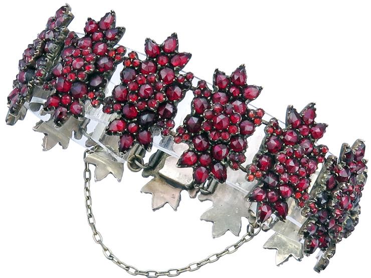 Bracelet Garnets Antique