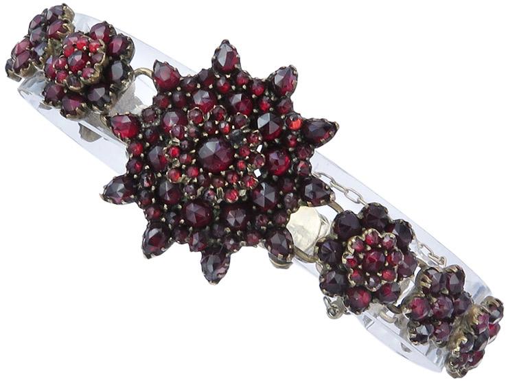 Armband Granate Antik