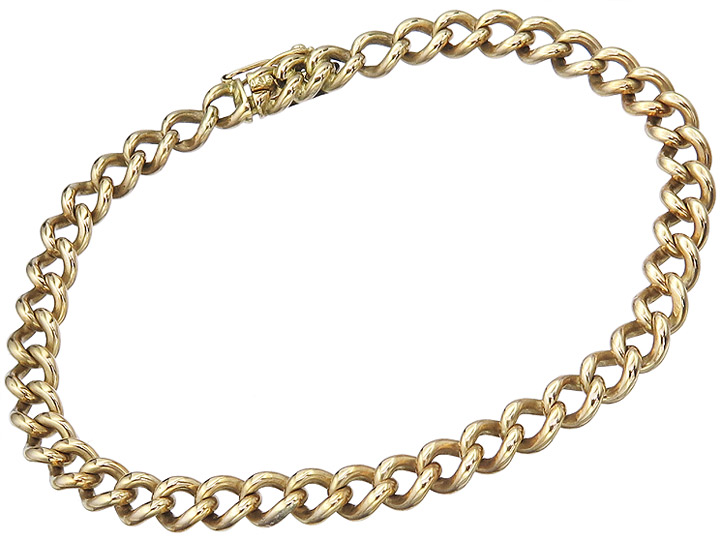 Bracelet Antique 18 Karat Yellow Gold