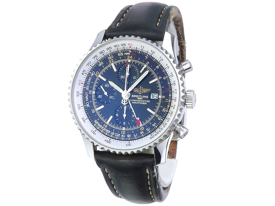 Breitling Navitimer World Box Papiere