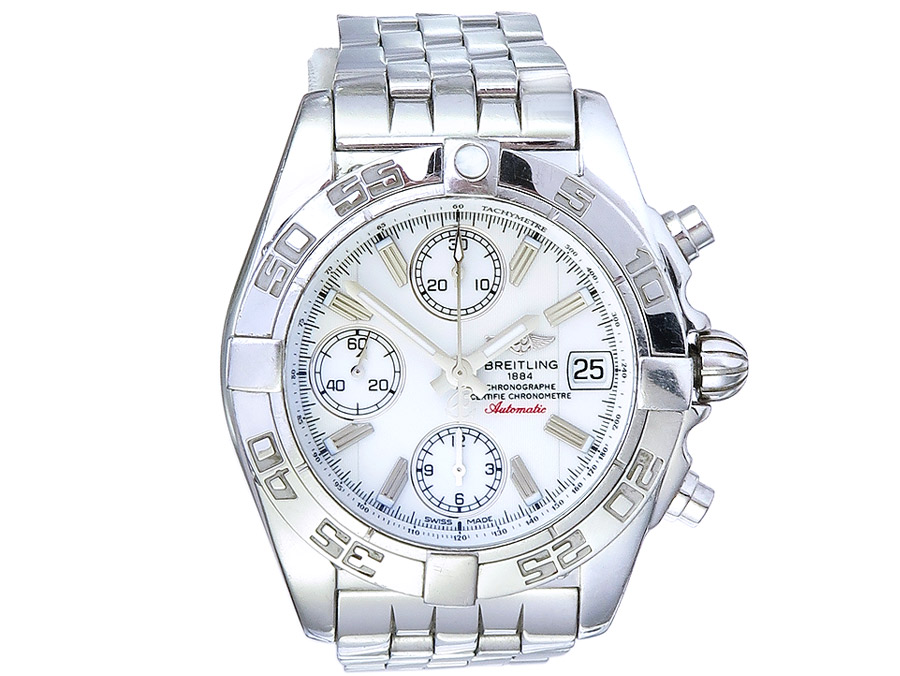 Breitling Chrono Galactic Box Papers