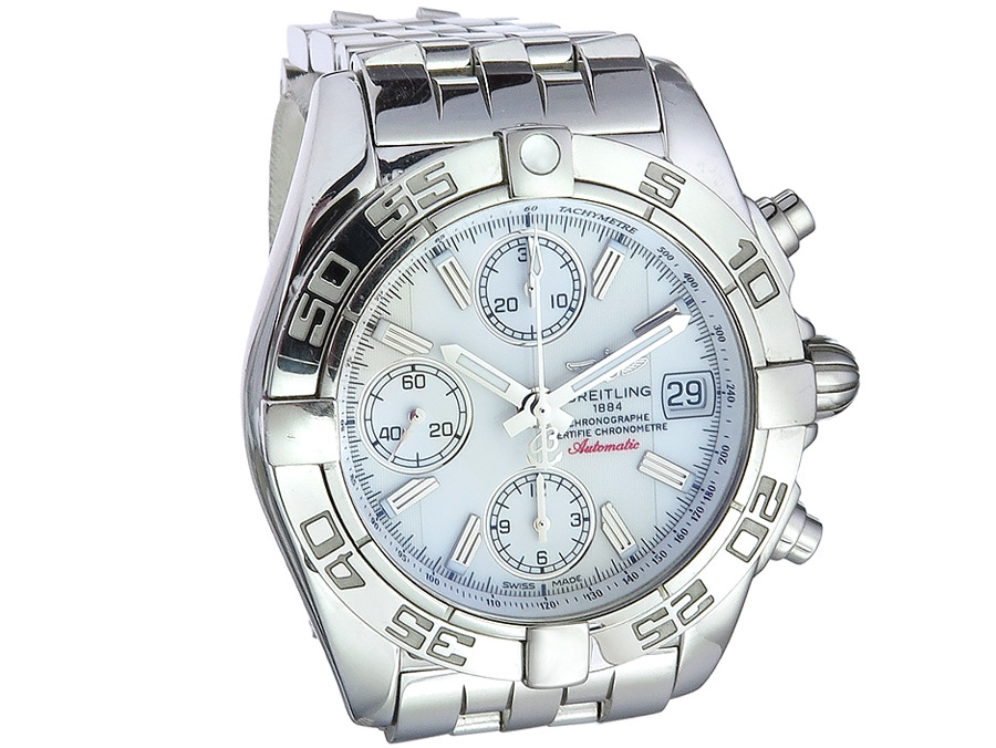 Breitling Chrono Galactic Box Papiere